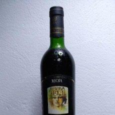 Coleccionismo de vinos y licores: BOTELLA VINO ARTESA, RESERVA 1987.. Lote 194232455