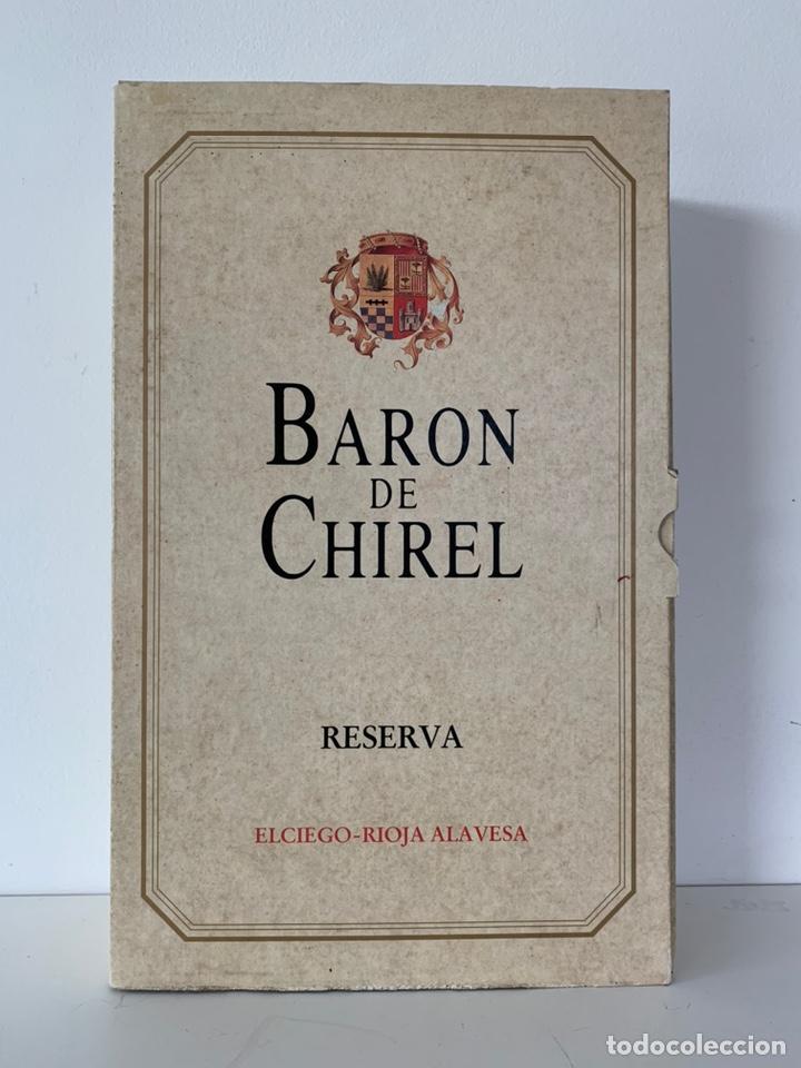 Coleccionismo de vinos y licores: Estuche 2 botellas Baron de Chirel 1995 - Foto 3 - 194240271