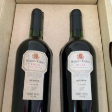 Coleccionismo de vinos y licores: ESTUCHE 2 BOTELLAS BARON DE CHIREL 1995. Lote 194240271