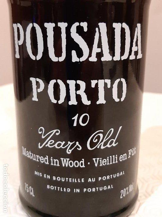 Coleccionismo de vinos y licores: BOTELLA OPORTO POUSADA PORTO 10 YEARS OLD. CAJA ORIGINAL. 75CL. PRECINTADA. - Foto 4 - 194241191