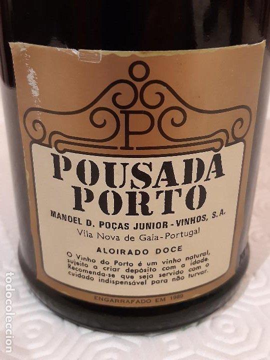 Coleccionismo de vinos y licores: BOTELLA OPORTO POUSADA PORTO 10 YEARS OLD. CAJA ORIGINAL. 75CL. PRECINTADA. - Foto 5 - 194241191