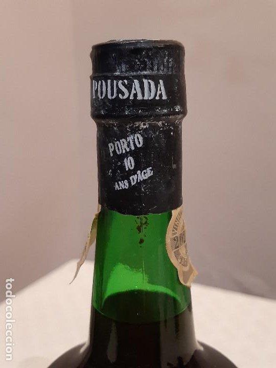 Coleccionismo de vinos y licores: BOTELLA OPORTO POUSADA PORTO 10 YEARS OLD. CAJA ORIGINAL. 75CL. PRECINTADA. - Foto 6 - 194241191