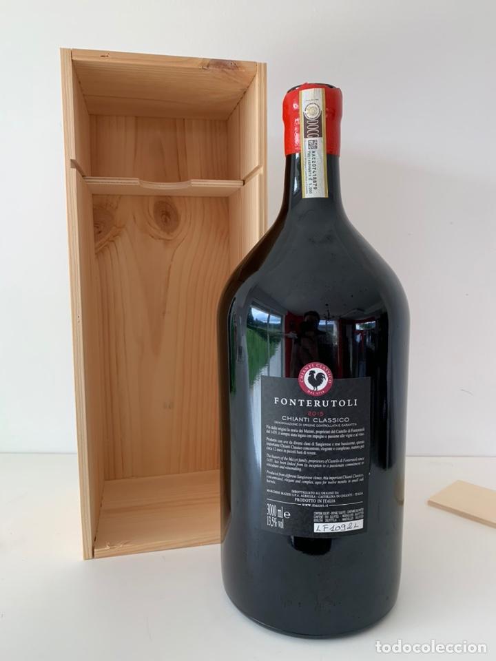 Coleccionismo de vinos y licores: Botella doble magnum Fonterutoli Chianti Classico 2015 - Foto 2 - 194246357