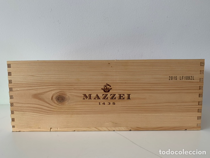 Coleccionismo de vinos y licores: Botella doble magnum Fonterutoli Chianti Classico 2015 - Foto 6 - 194246357