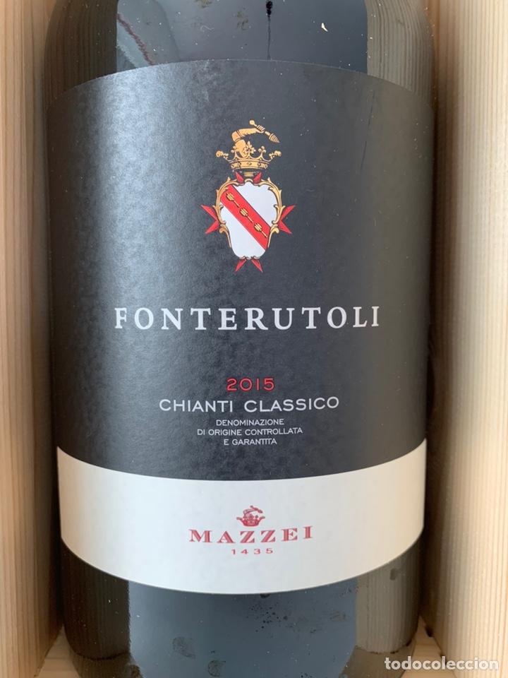 BOTELLA DOBLE MAGNUM FONTERUTOLI CHIANTI CLASSICO 2015 (Coleccionismo - Botellas y Bebidas - Vinos, Licores y Aguardientes)