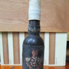 Coleccionismo de vinos y licores: ANTIGUO BOTELLIN, MORILES MANUEL BENITEZ EL CORDOBES. Lote 194513992