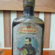 Coleccionismo de vinos y licores: ANTIGUO BOTELLIN,KINA SAN CLEMENTE. Lote 194514685