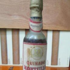 Coleccionismo de vinos y licores: ANTIGUO BOTELLIN, QUINADO MONTULIA, BODEGAS MONTULIA. Lote 194515507