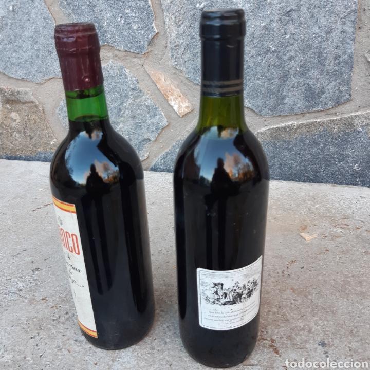 Coleccionismo de vinos y licores: Dos curiosas botellas de vino - Foto 4 - 194534033