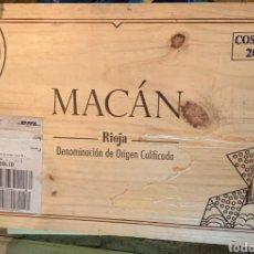Coleccionismo de vinos y licores: MACAN 2009. Lote 194586353