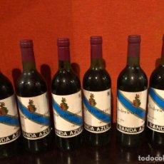 Coleccionismo de vinos y licores: 6 BOTELLAS FEDERICO PATERNINA BANDA AZUL. Lote 194588121
