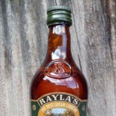 Coleccionismo de vinos y licores: BOTELLITA CREAM LIQUEUR RAYLA'S. Lote 194590237