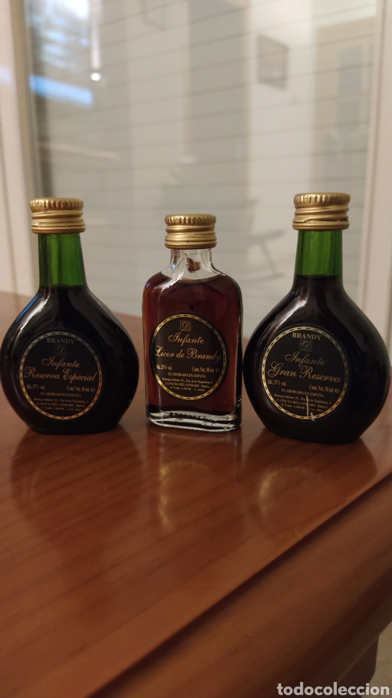 BOTELLITAS EN MINIATURA (Coleccionismo - Botellas y Bebidas - Vinos, Licores y Aguardientes)