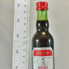 Coleccionismo de vinos y licores: BOTELLITA BOTELLIN GOMARA MALAGA CREAM BODEGAS GOMARA S.L. MALAGA. Lote 194679342