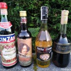 Coleccionismo de vinos y licores: 4 BOTELLAS VINTAGE. Lote 194717863