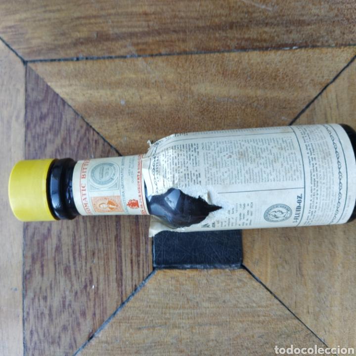 Coleccionismo de vinos y licores: Antigua botellita de Angostura botellín sin abrir - Foto 2 - 194900546