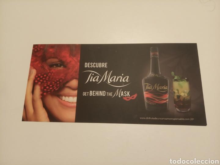 DESCUBRE TIA MARÍA (Coleccionismo - Botellas y Bebidas - Vinos, Licores y Aguardientes)