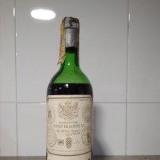 Coleccionismo de vinos y licores: VINO DE RIOJA. MARQUÉS DE RISCAL 1974. BOTELLA DE VINO.. Lote 167573741