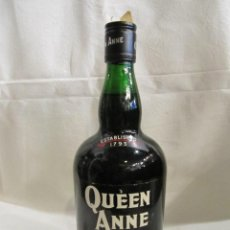Coleccionismo de vinos y licores: BOTELLA QUEEN ANNE RARE SCOTCH WHISKY - SIN ABRIR - HILL THOMSON & CO. LTD.EDINBURGH. Lote 195087267