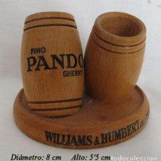 Coleccionismo de vinos y licores: PALILLERO DOBLE BODEGAS HUMBERT JEREZ. Lote 195104280
