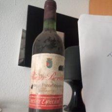 Coleccionismo de vinos y licores: RIOJA BORDÓN COSECHA ESPECIAL 1970 BODEGA FRANCO ESPAÑOLAS. Lote 195159023