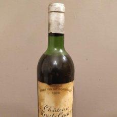Coleccionismo de vinos y licores: CHATEAU HAUT - CADET 1973 GRAND VIN DE BORDEAUX - SAINT EMILIOM GRAND CRU. Lote 195330141