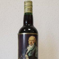 Coleccionismo de vinos y licores: BOTELLA MOSCATEL GOYA. Lote 195354697
