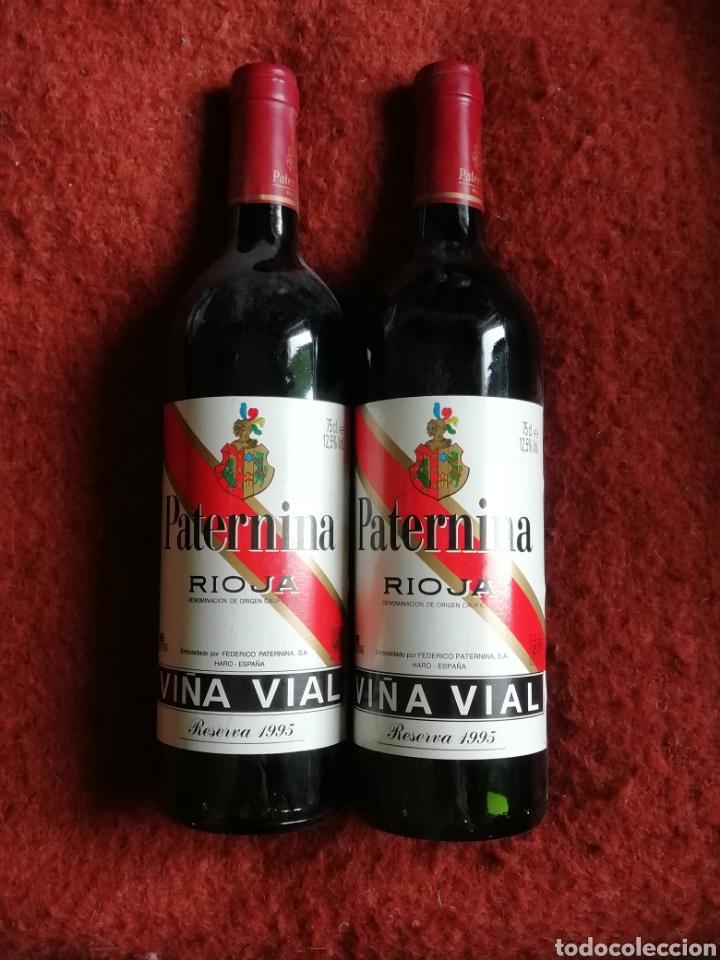 PAR DE BOTELLAS PATERNINA RIOJA RESERVA 1995 (Coleccionismo - Botellas y Bebidas - Vinos, Licores y Aguardientes)