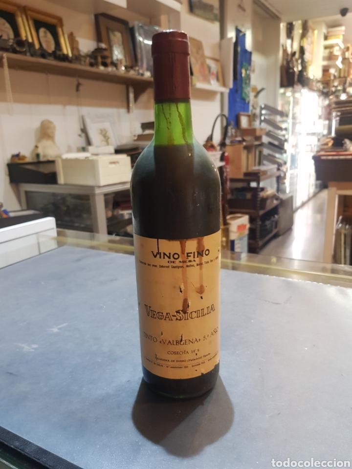 BOTELLA VEGA SICILIA TINTO VALBUENA 5º AÑO COSECHA 1978 (Coleccionismo - Botellas y Bebidas - Vinos, Licores y Aguardientes)