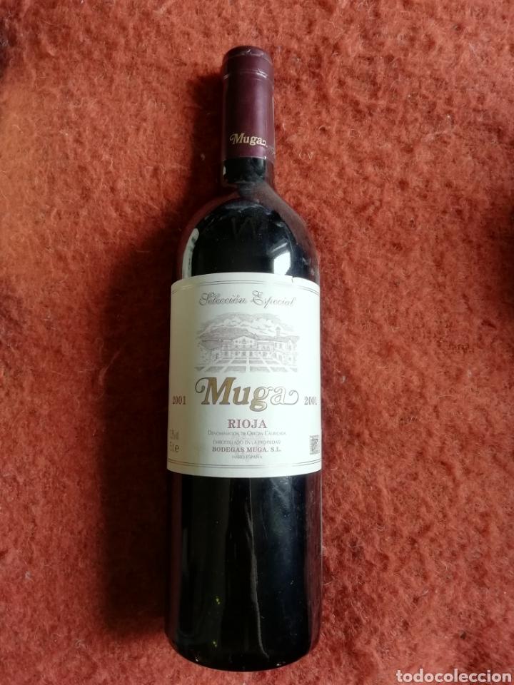 MUGA RIOJA RESERVA 2001 SELECCIÓN ESPECIAL (Coleccionismo - Botellas y Bebidas - Vinos, Licores y Aguardientes)