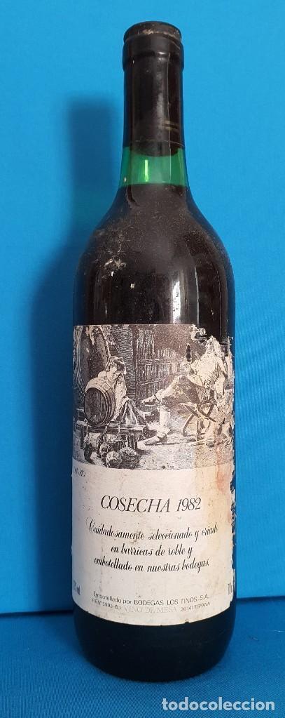 == BOTELLA DE VINO DON PIO COSECHA 1982 - UNICA EN TODOCOLECCION (Coleccionismo - Botellas y Bebidas - Vinos, Licores y Aguardientes)