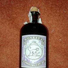 Coleccionismo de vinos y licores: GINEBRA MONKEY 47. Lote 195436411