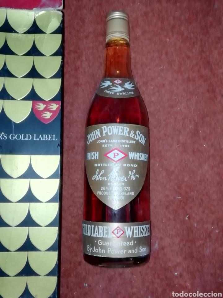 Coleccionismo de vinos y licores: Powers gold label 1970 - Foto 2 - 195439758