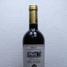Coleccionismo de vinos y licores: BOTELLA VINO MURIEL, RESERVA 2000.. Lote 195784750
