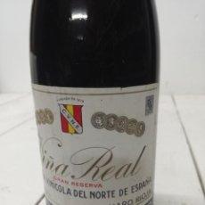 Coleccionismo de vinos y licores: BOTELLA VINO TINTO RIOJA VIÑA REAL CUNE GRAN RESERVA 1970. Lote 196904192