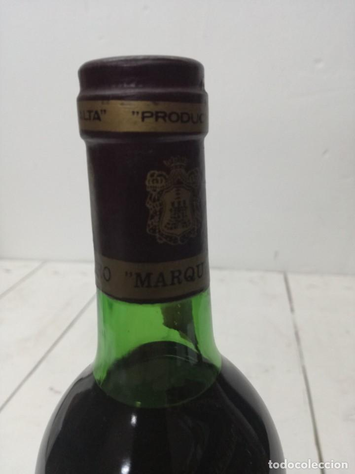 Coleccionismo de vinos y licores: VINO RIOJA MARQUES DE CACERES RESERVA 1970 CENICERO - Foto 3 - 196904622