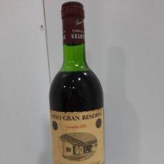 Coleccionismo de vinos y licores: BOTELLA SEÑORIO DE LOS LLANOS VINO GRAN RESERVA COSECHA 1970 - VALDEPEÑAS. Lote 196972305