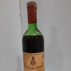 Coleccionismo de vinos y licores: BOTELLA DE VINO F. PATERNINA COSECHA 1955 (NO COMERCIALIZADO) - RESERVAS DE OLLAURI. Lote 197041538