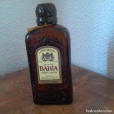 Coleccionismo de vinos y licores: BAHIA LICOR DE CAFE. PRODUCT OF BRASIL (ETIQUETA EN INGLÉS) BOTELLA VACIA. Lote 198041128