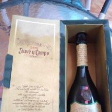 Coleccionismo de vinos y licores: ANTIGUA BOTELLA CAVA GRAN JUVÉ Y CAMPS NUMERADA POR DESPRECINTAR. Lote 201322427