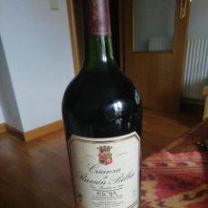 Coleccionismo de vinos y licores: MAGNUM 1,5L RAMÓN BILBAO CR95. Lote 202354581