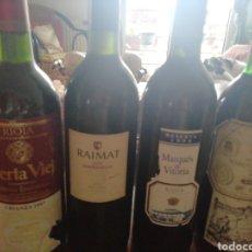 Coleccionismo de vinos y licores: BOTELLA DE VINO. Lote 202357943