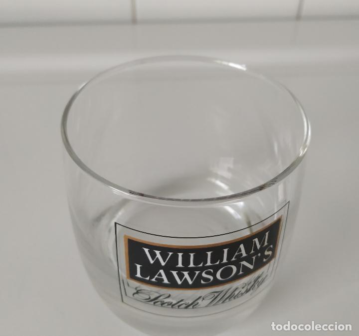Coleccionismo de vinos y licores: Vaso whisky William Lawson s. En perfecto estado - Foto 3 - 202496261