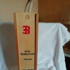 Coleccionismo de vinos y licores: BOTELLA ELIO BERHANYER. Lote 202657535