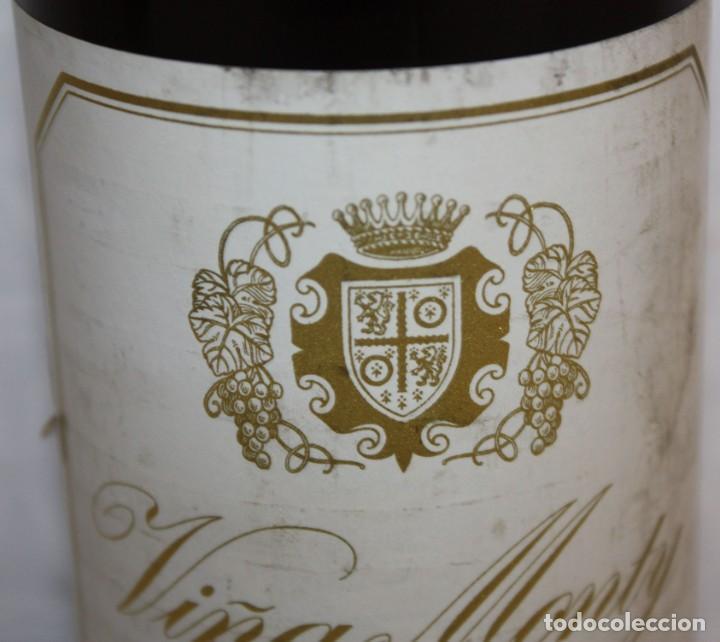 Coleccionismo de vinos y licores: BOTELLA DE VINO TINTO RIOJA - VIÑA MONTY - COSECHA 1968 - Foto 6 - 203202665