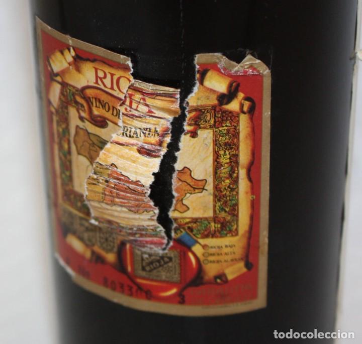Coleccionismo de vinos y licores: BOTELLA DE VINO TINTO RIOJA - VIÑA MONTY - COSECHA 1968 - Foto 9 - 203202665