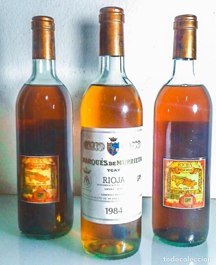 Coleccionismo de vinos y licores: MARQÚES DE MURRIETA - YGAY - BLANCO - RESERVA - 1984 - Foto 2 - 194068077