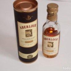 Coleccionismo de vinos y licores: ABERLOUR SCOTCH WHISKY / ESTUCHE 1988. Lote 203902026