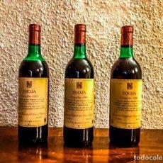 Coleccionismo de vinos y licores: LOTE 3 BOTELLAS COMPAÑIA VINICOLA DEL NORTE - COSECHA 1981 - D.O. RIOJA. Lote 177007479