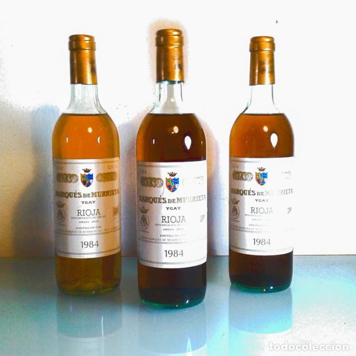 MARQÚES DE MURRIETA - YGAY - BLANCO - RESERVA - 1984 (Coleccionismo - Botellas y Bebidas - Vinos, Licores y Aguardientes)